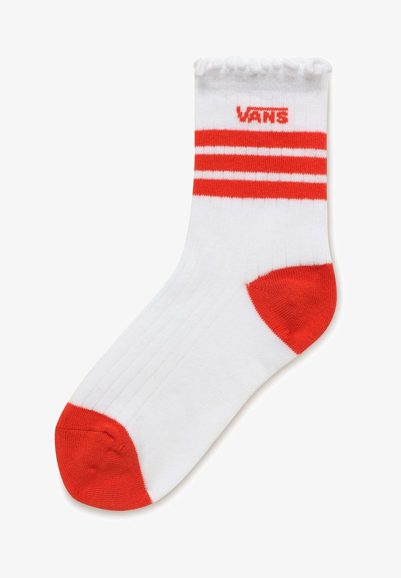 Vans - WM RUFFED UP SOCK (6.5-10, 1PK) - Socks - white