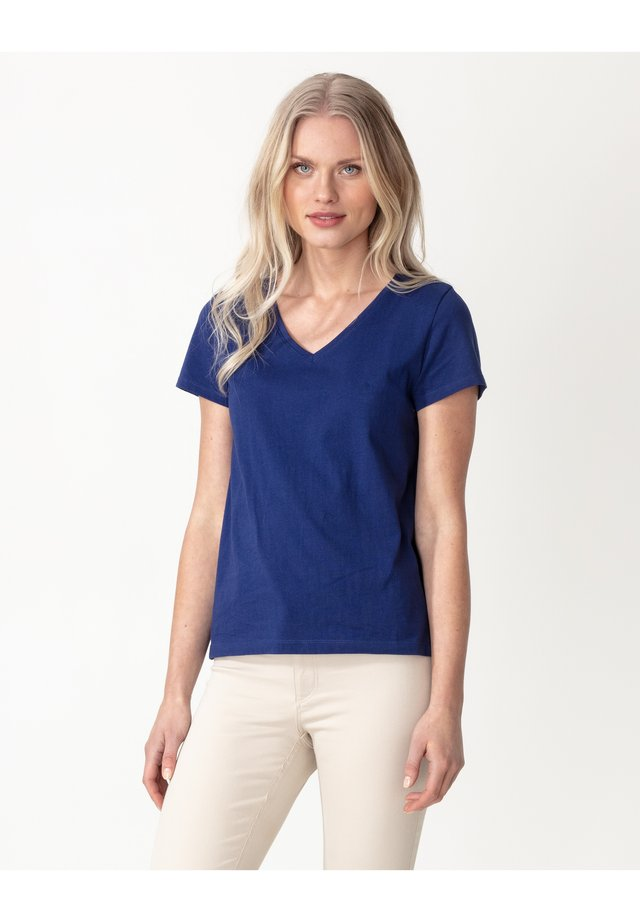 MATHILDA  - T-shirts basic - blue