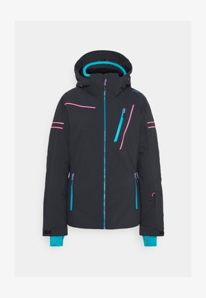 WOMAN JACKET ZIP HOOD - Skijakker - antracite