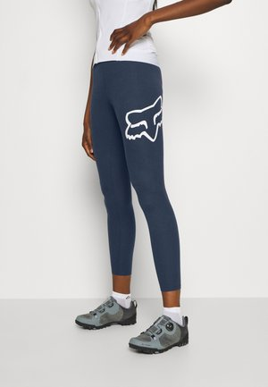 ENDURATION LEGGING - Tights - blue/white
