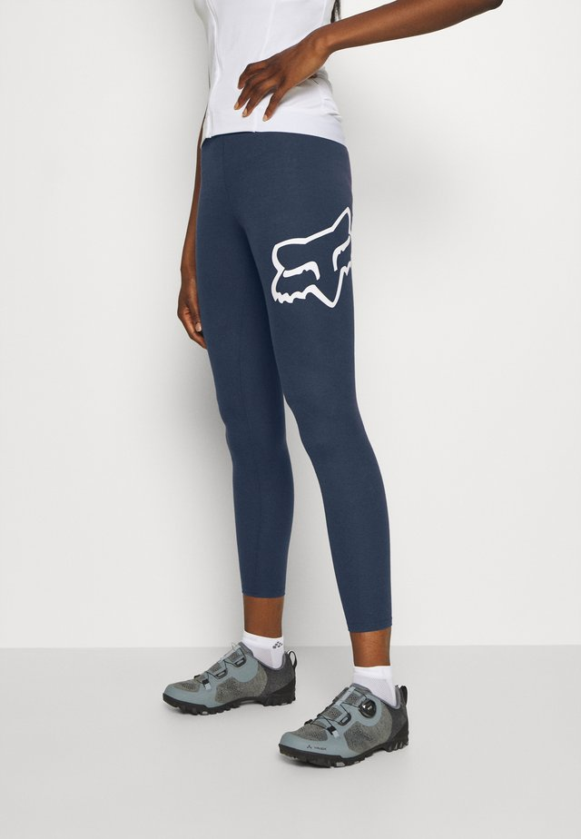 ENDURATION LEGGING - Leggings - blue/white