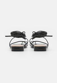 BEBO - DOLLI - T-bar sandals - black - 3