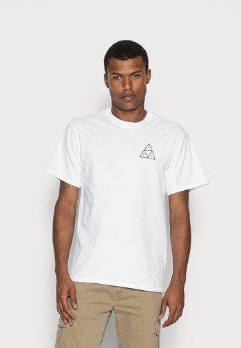ESSENTIALS TEE - Print T-shirt - white