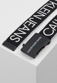 Calvin Klein Jeans - LOGO BELT - Bælter - black - 3