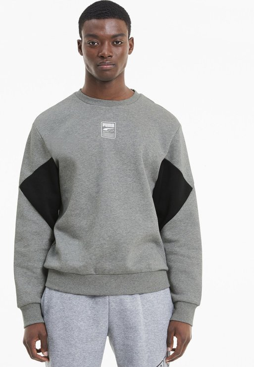 Puma - REBEL  - Sweatshirt - medium gray heather