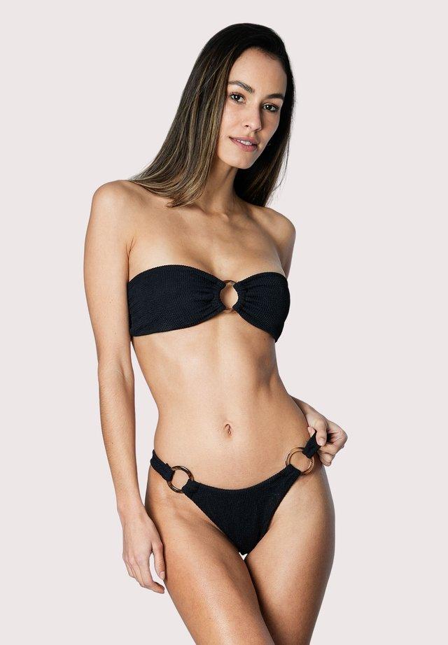 CRINKLE - Bikinitop - black