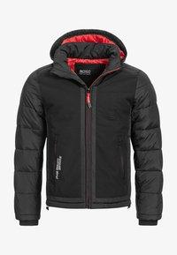 INDICODE JEANS - Winter jacket - black - 6