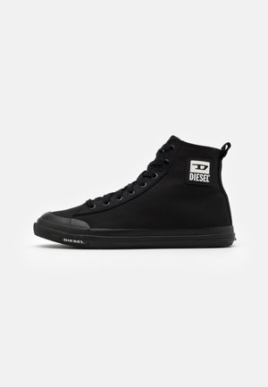 ASTICO S-ASTICO MID CUT SNEAKERS - High-top trainers - black