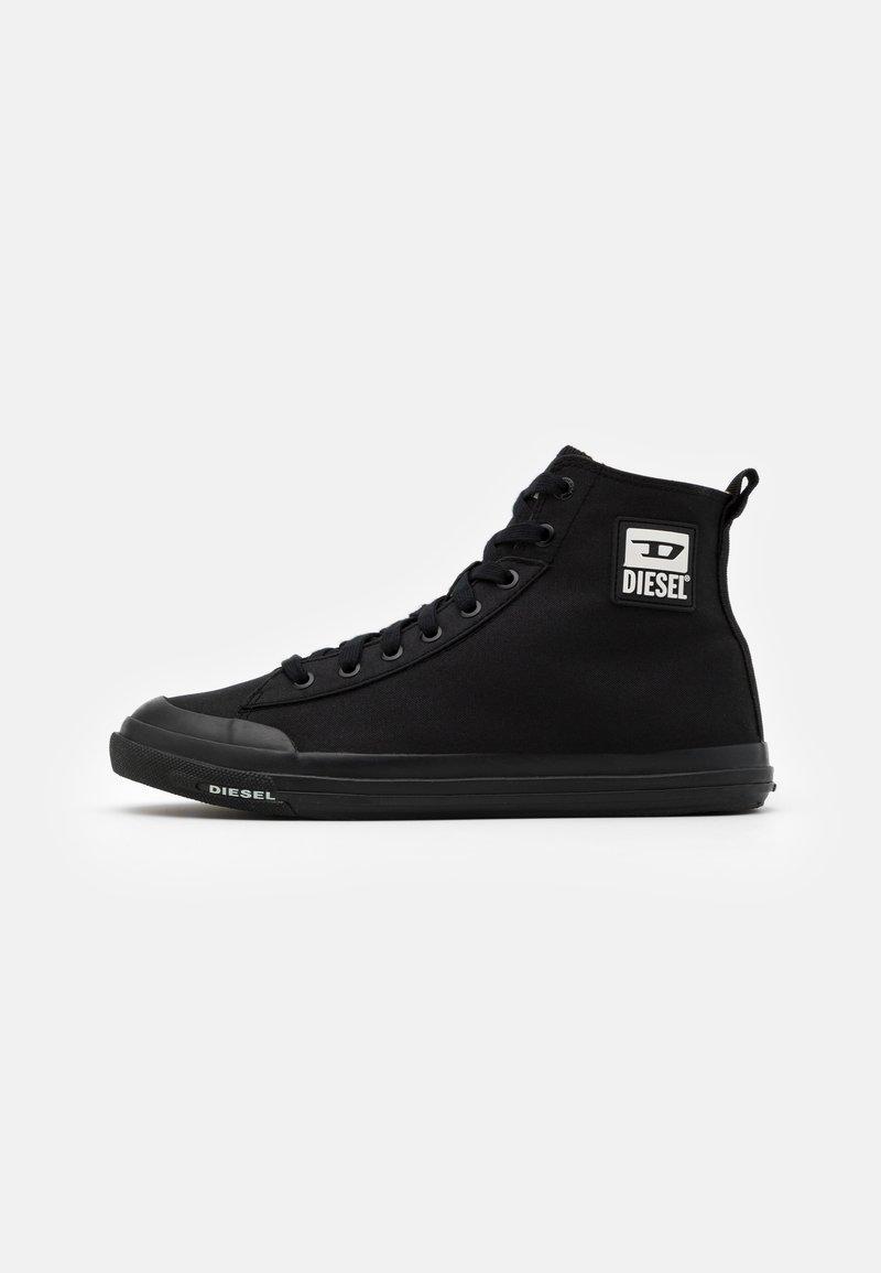 Diesel - ASTICO S-ASTICO MID CUT SNEAKERS - Sneakers hoog - black