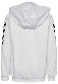 Hummel - HMLGO - Zip-up hoodie - white - 1