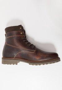 Salamander - HARROLD - Lace-up ankle boots - cognac - 1