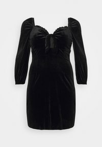 Glamorous Curve - BLACK MILKMAID DRESS - Kjole - black - 5