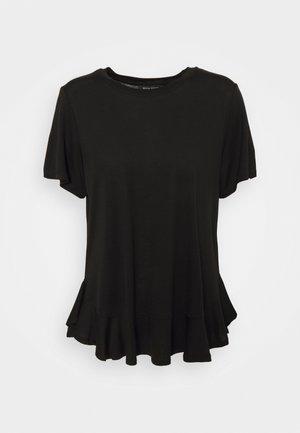 KATKA JANITA TEE - T-shirt basic - black