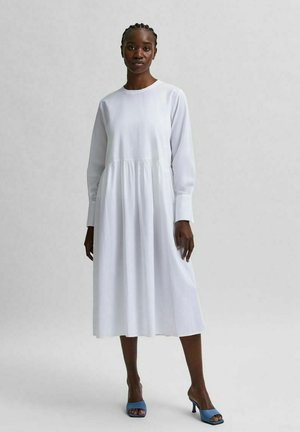 Day dress - bright white