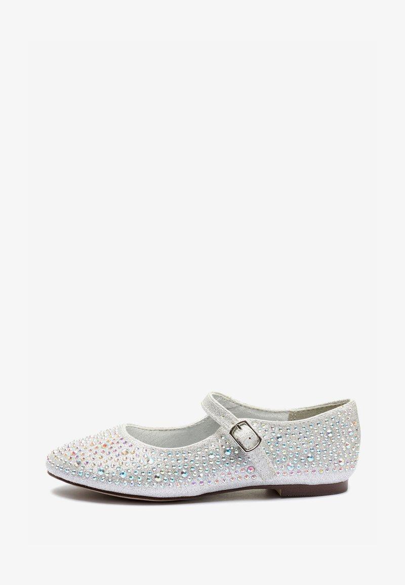 Next - Ballerina's met enkelbandjes - silver
