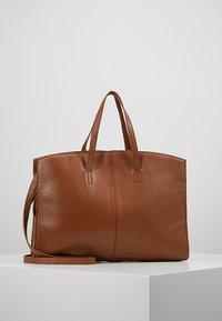 KIOMI - LEATHER - Laptop bag - cognac - 0