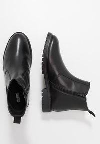 Jacamo - EXTRA WIDE CHELSEA BOOT WITH INSIED ZIP - Classic ankle boots - black - 1