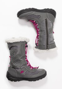 LICO - CATHRIN - Winter boots - grau/pink - 0