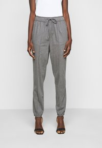 Gap Tall - WARM JOGGER DRAWSTRING - Tracksuit bottoms - grey heather - 0