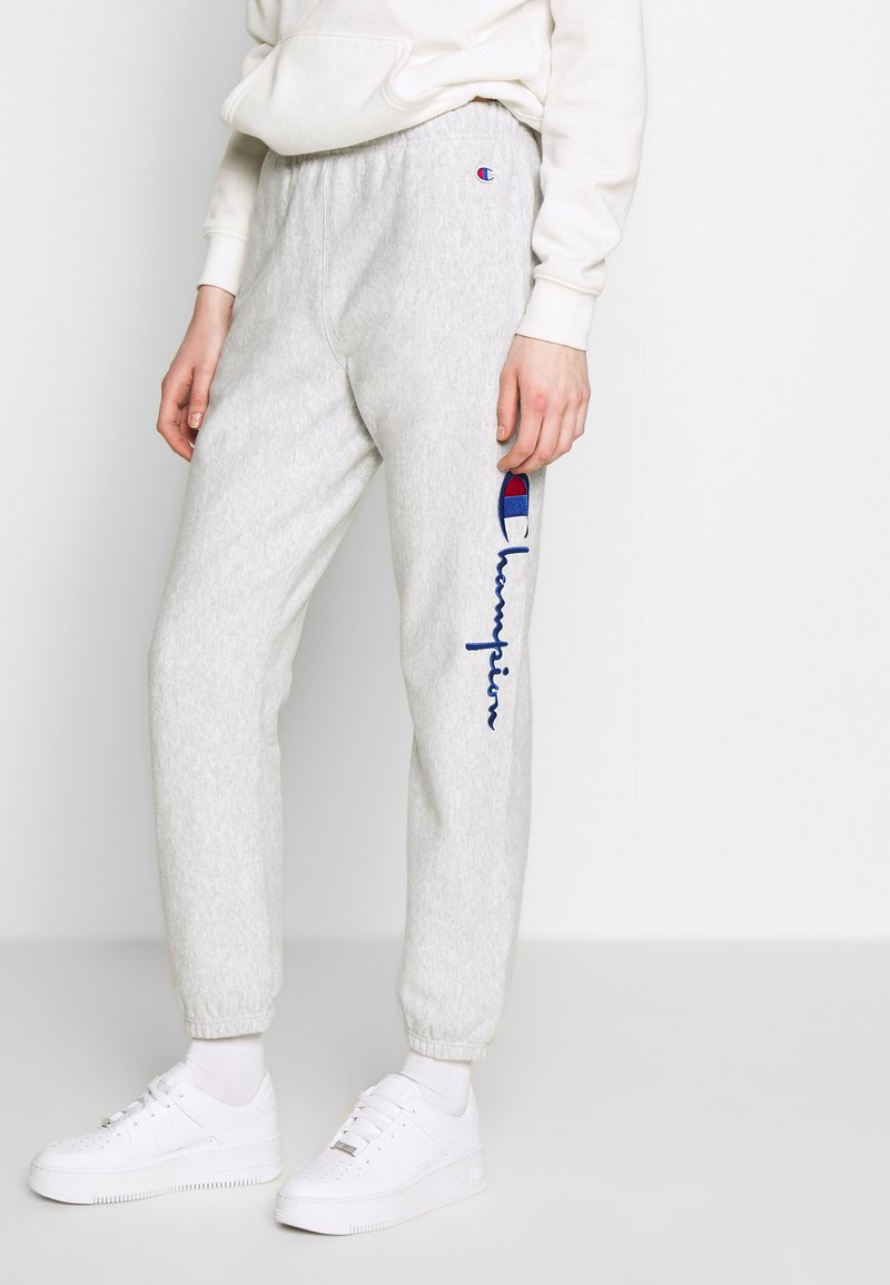 Champion Reverse Weave - ELASTIC CUFF PANTS - Tracksuit bottoms - grey