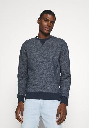 JJMELANGE CREW NECK - Sweater - navy blazer melange