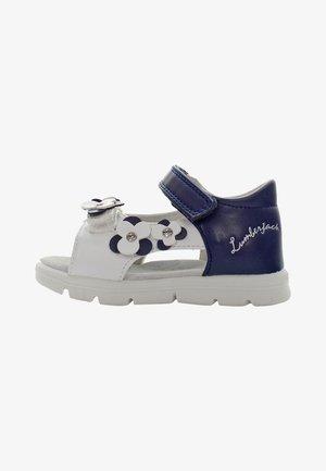 WHIPPY - Sandals - white/navy blue