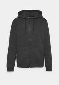 ONSCERES LIFE ZIP HOODIE - Zip-up sweatshirt - dark grey melange