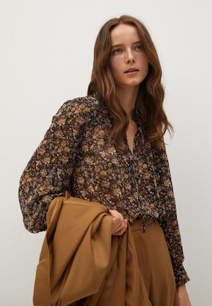 CHICAGO - Button-down blouse - braun