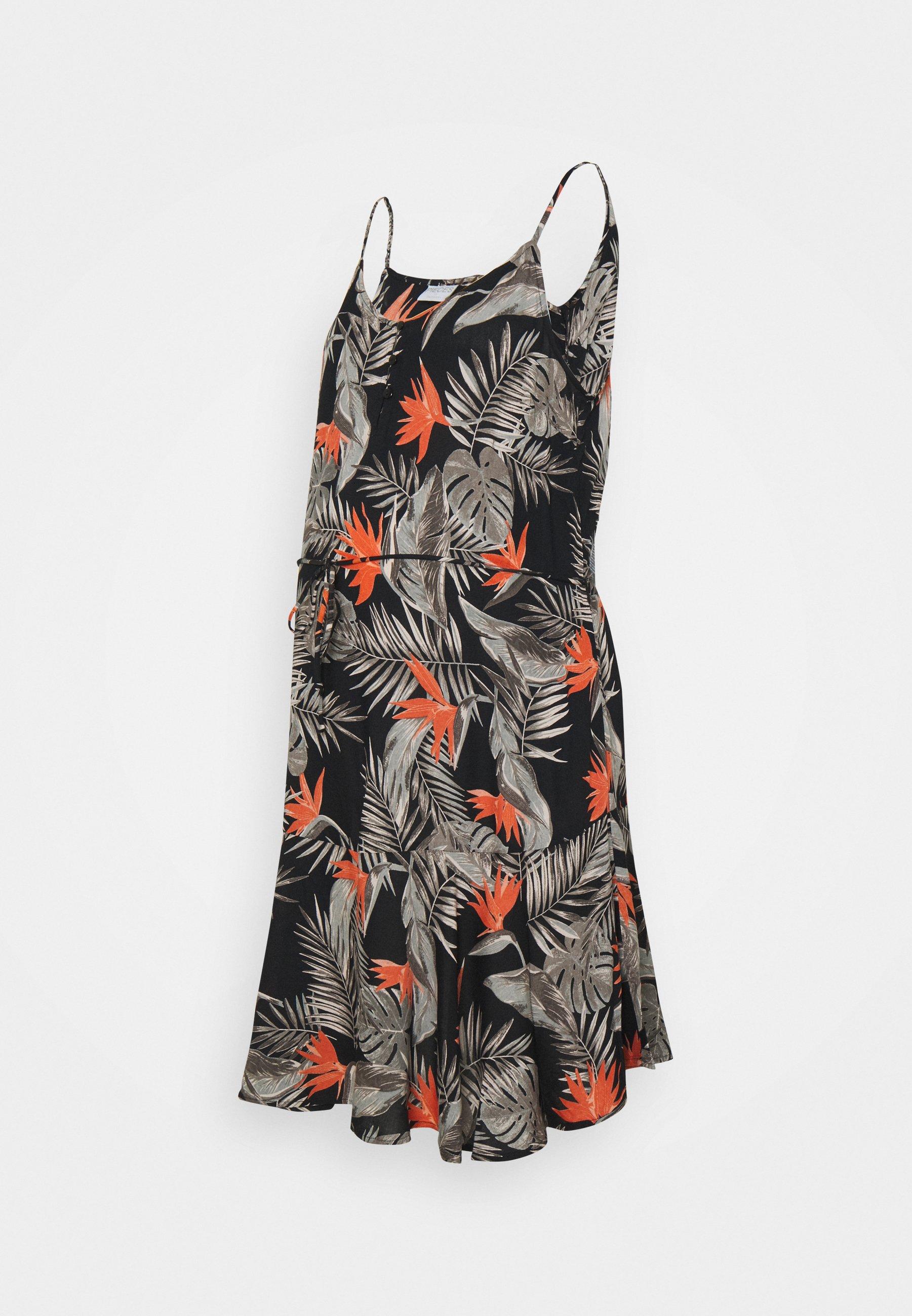 Donna PCMNYA SLIP BUTTON DRESS - Vestito estivo