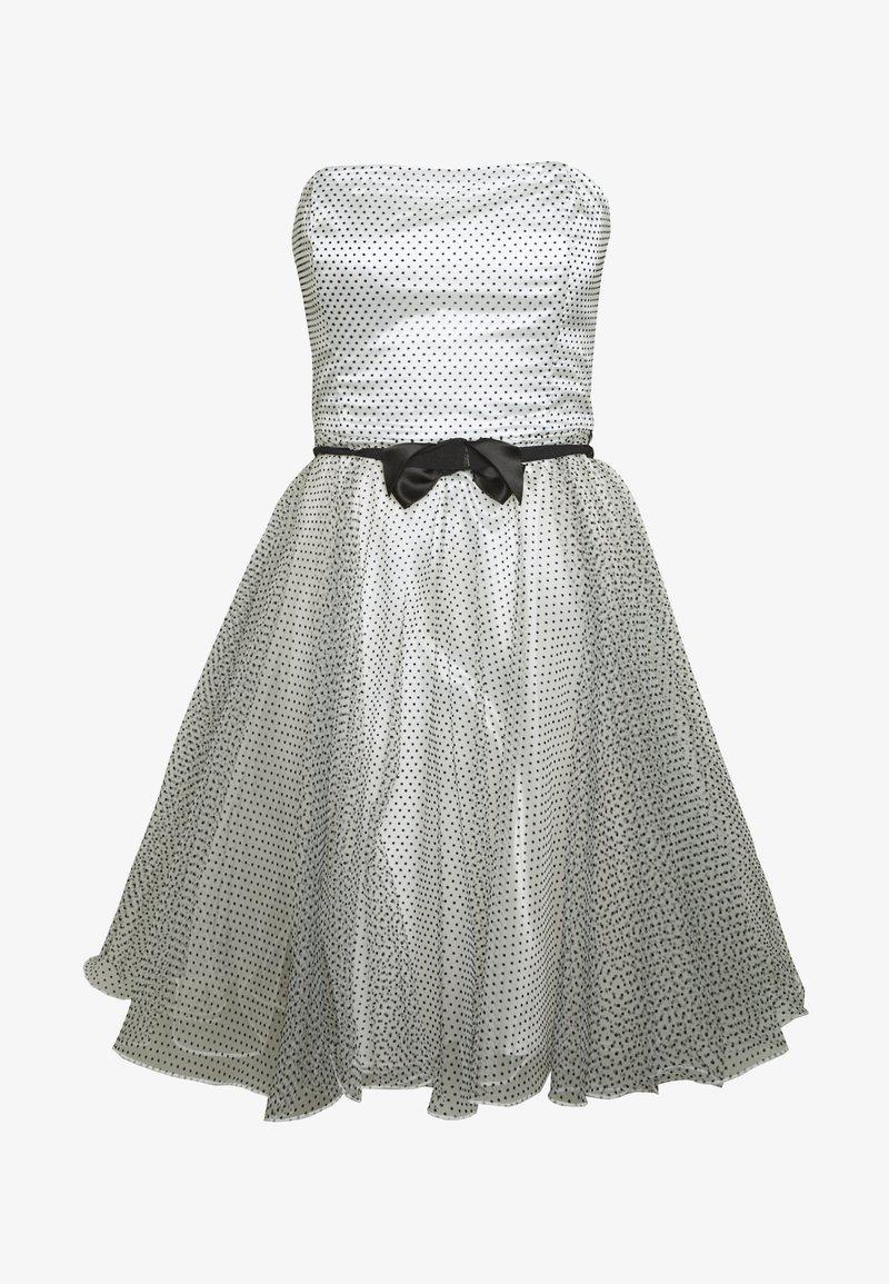 Cocktailkleid/festliches Kleid - weiß/schwarz