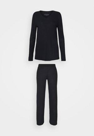 SCHLAFANZUG LANG - Pyjama - schwarz
