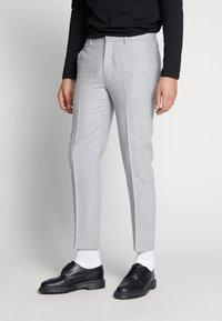 Shelby & Sons - BEMBRIDGE TROUSER - Trousers - light grey - 0