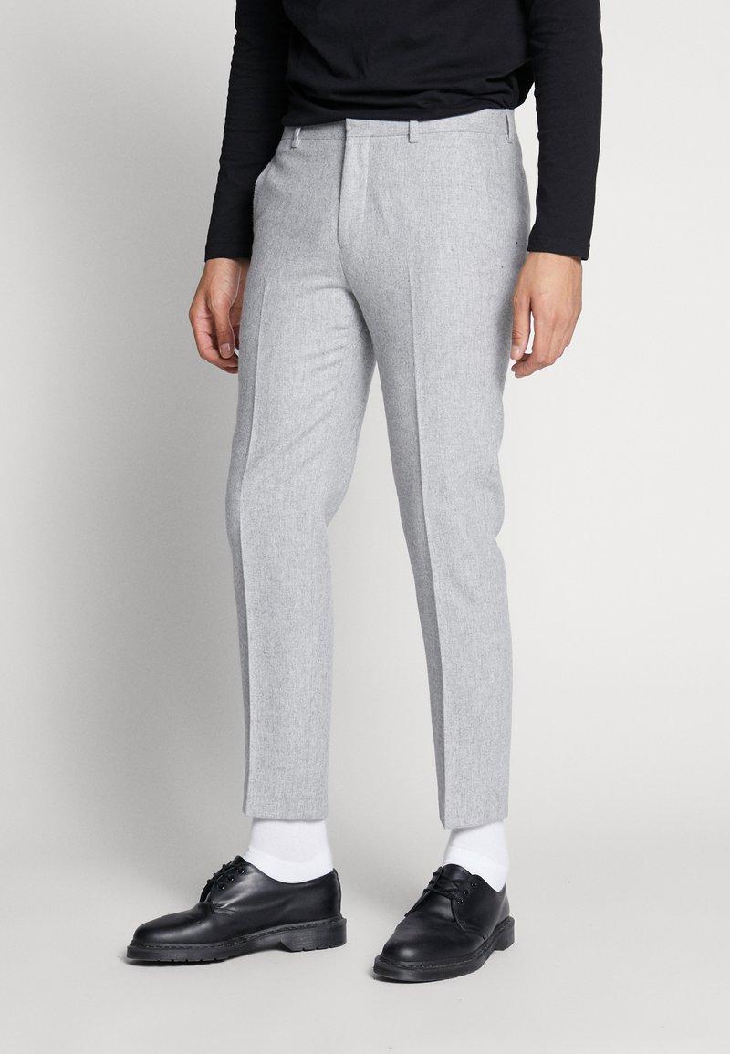 Shelby & Sons - BEMBRIDGE TROUSER - Trousers - light grey