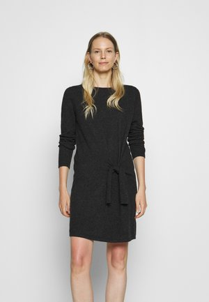 QUIRSTEN - Jumper dress - slate grey melange