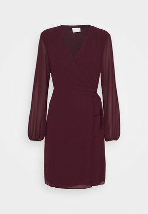 VIWINNIE TIE WRAP DRESS - Day dress - winetasting