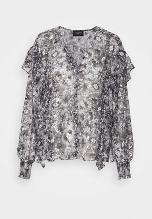 Blouse - black/ecru
