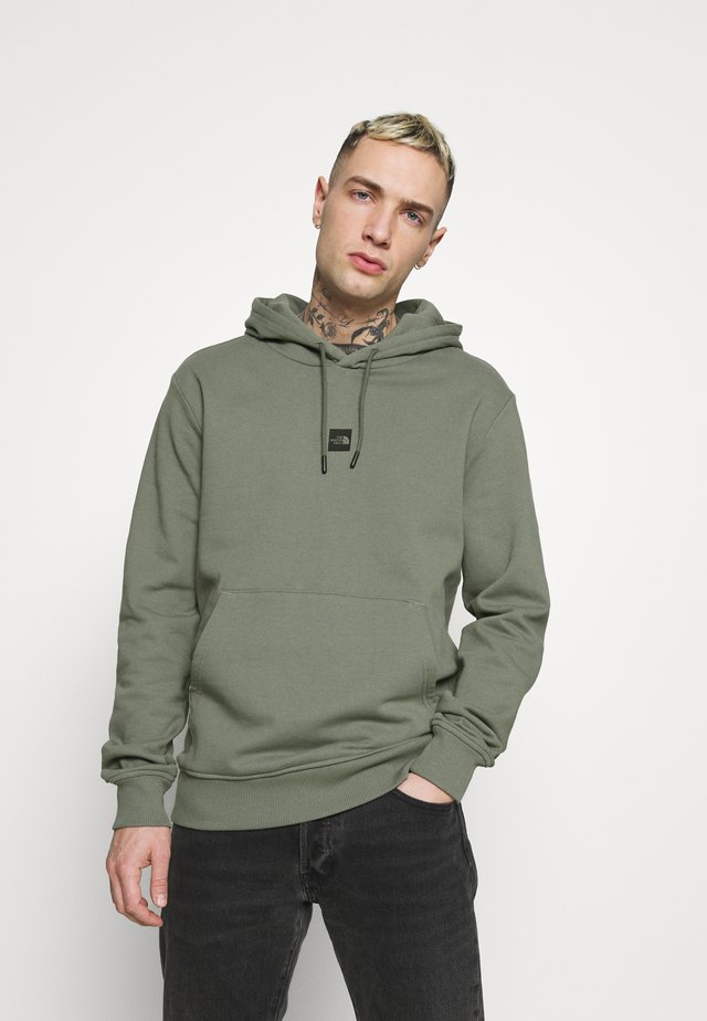 GRAPHIC HOOD - Hoodie - agave green