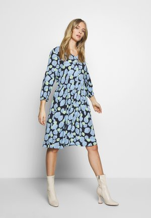 DRESS V-NECK - Denní šaty - navy