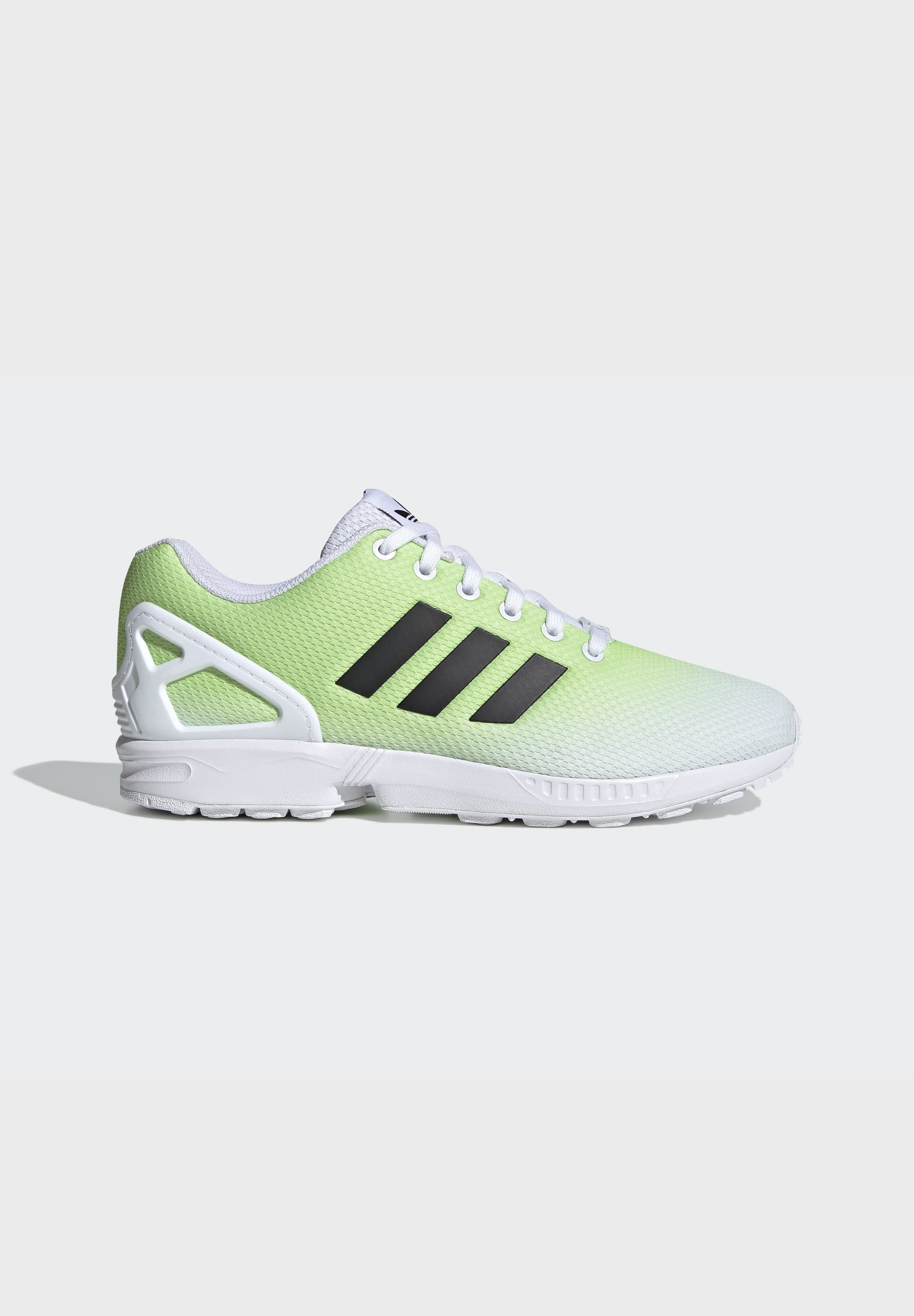 adidas Originals ZX FLUX SHOES - Sneaker low - white/weiß - Herrenschuhe UoAxw
