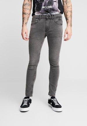 ONSWARP SKINNY CROP - Jeans Skinny Fit - black denim