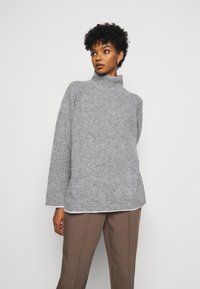 By Malene Birger - ELLISON - Jumper - med grey mel - 0