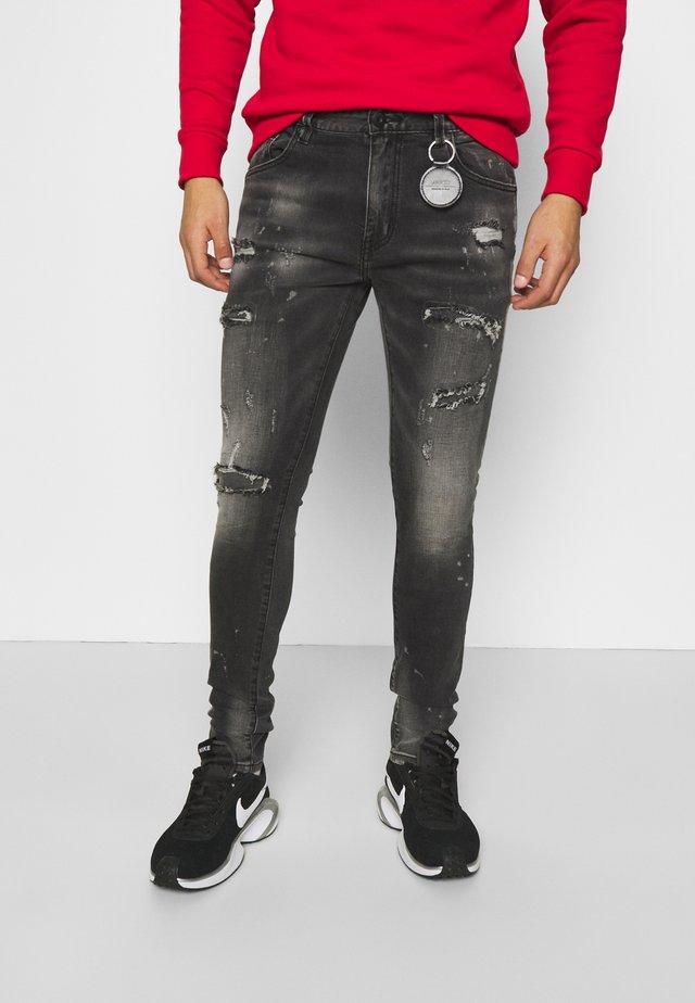 AMICCI TORTOAN JEANS - Jeans Skinny Fit - greywash