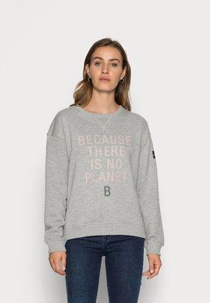 LLANESALF BECAUSE WOMAN - Sweatshirt - grey melange