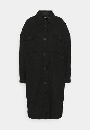 VMROSIE LONG SHIRT COAT - Classic coat - black