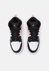 Jordan - 1 MID UNISEX - Basketbalschoenen - white/arctic orange/black - 3