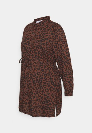 MLASMILA  - Button-down blouse - brown