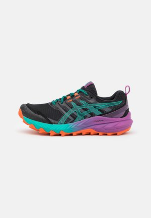 GEL TRABUCO 9 - Zapatillas de trail running - black/baltic jewel