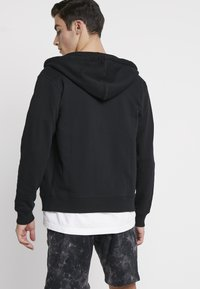 Diesel - BRANDON - veste en sweat zippée - black