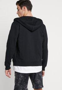 Diesel - BRANDON - Zip-up hoodie - black - 2