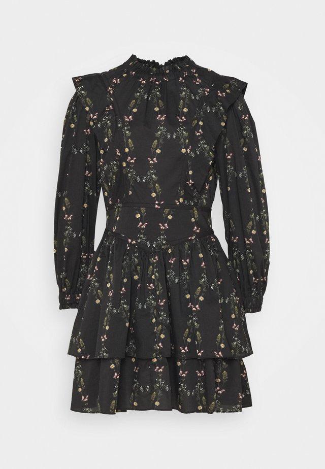 AISLYN VARANASI DRESS - Korte jurk - black